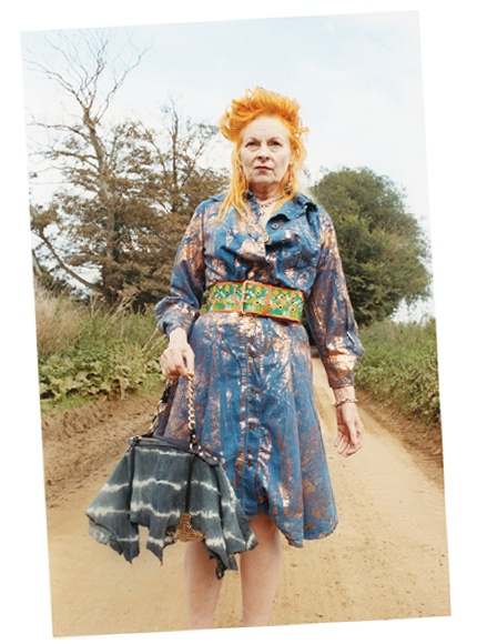 Vivienne Westwood. I can only hope that I ll be this awesome when I m her age