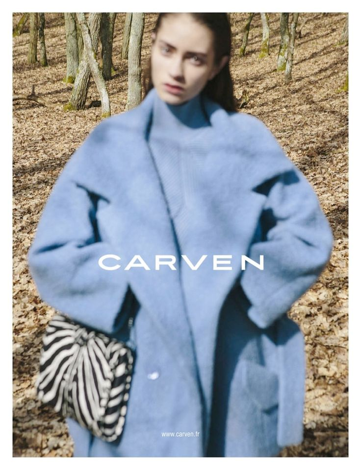 Carven Autumn-Winter 2013 Marine Deleeuw by Viviane Sassen