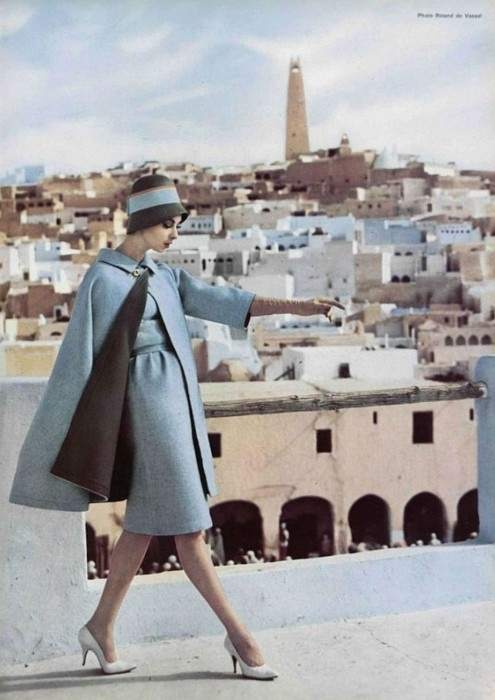 1960 Photographer - Roland de Vassal for Nina Ricci.