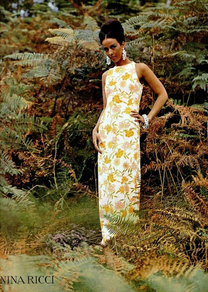 Nina Ricci dress 1965