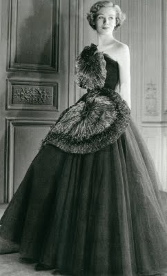 Crinolines in Contemporary Fashion Elsa Schiaparelli, 1950