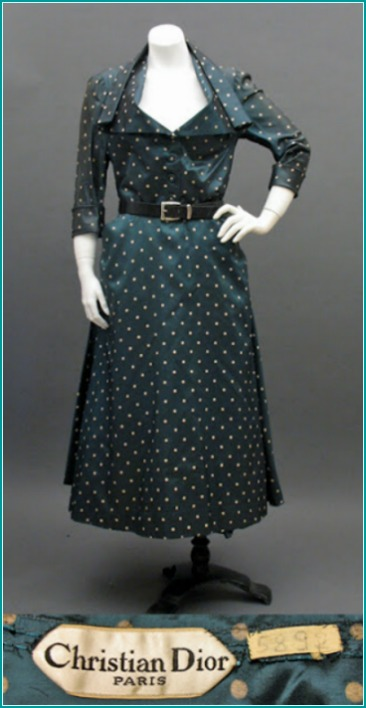 Dior 1948 Polka Dot Dress