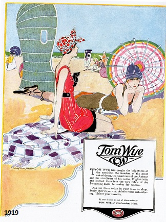 Tom Wye Swimwear 1919