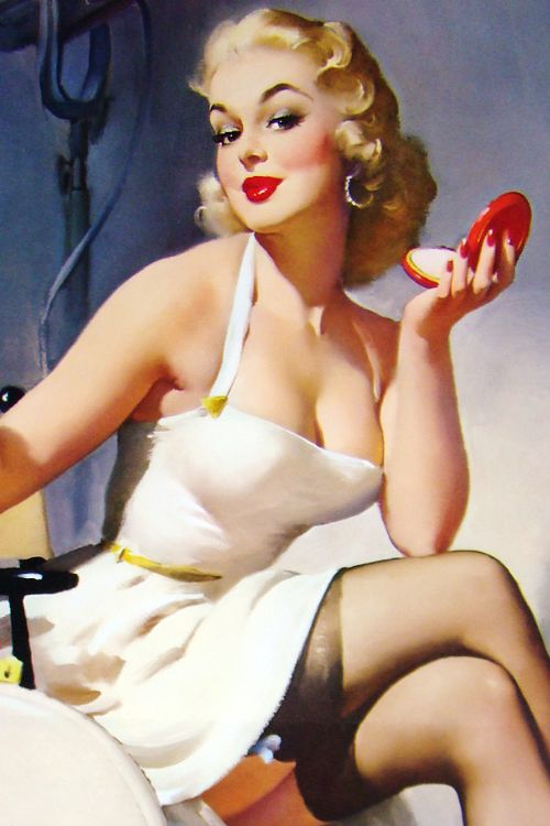 pinup make up