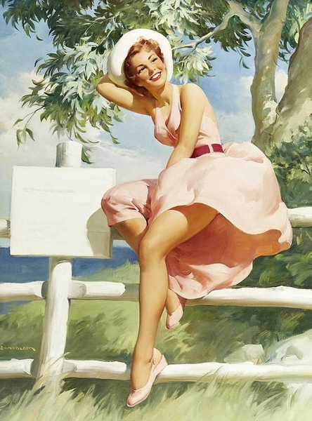 pinup romantic